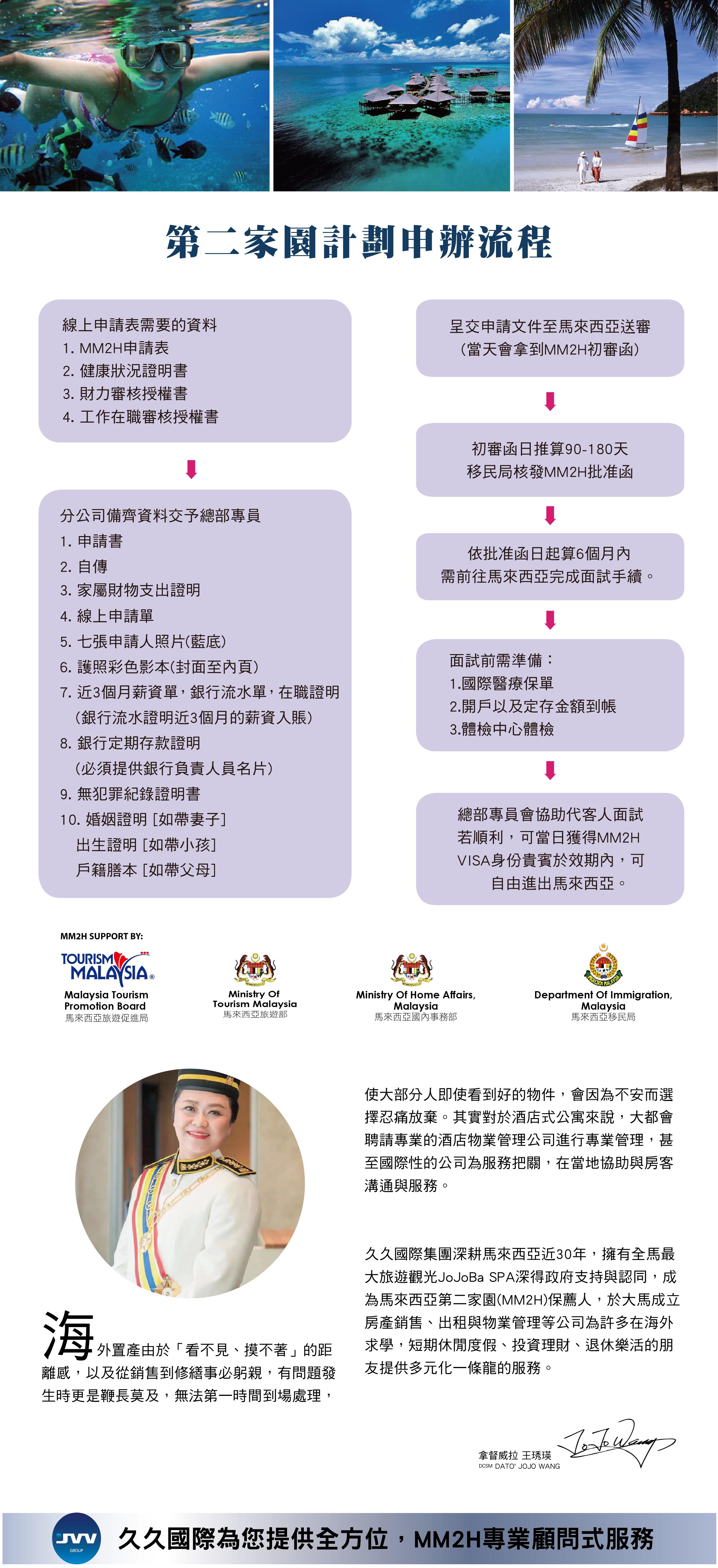 JVV台灣官網-MM2H申請流程-D