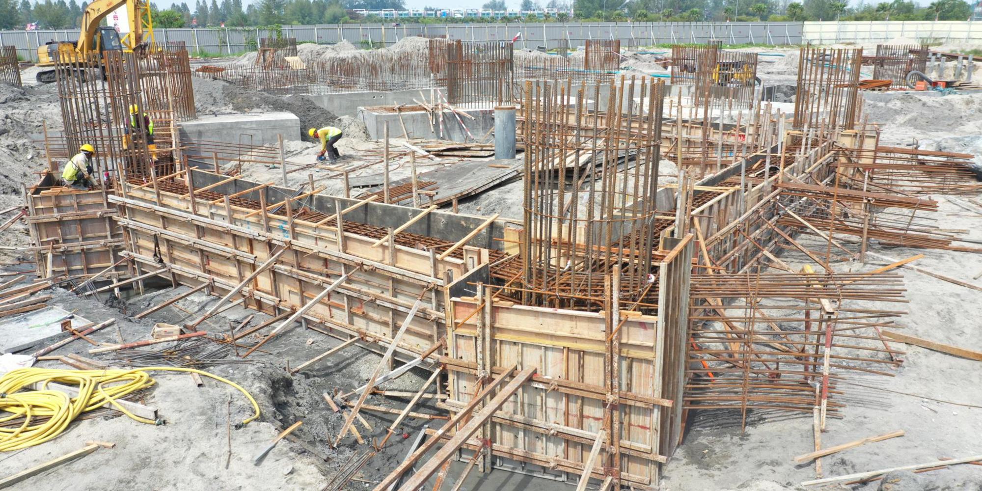 03-B 棟 區域 繫樑組模