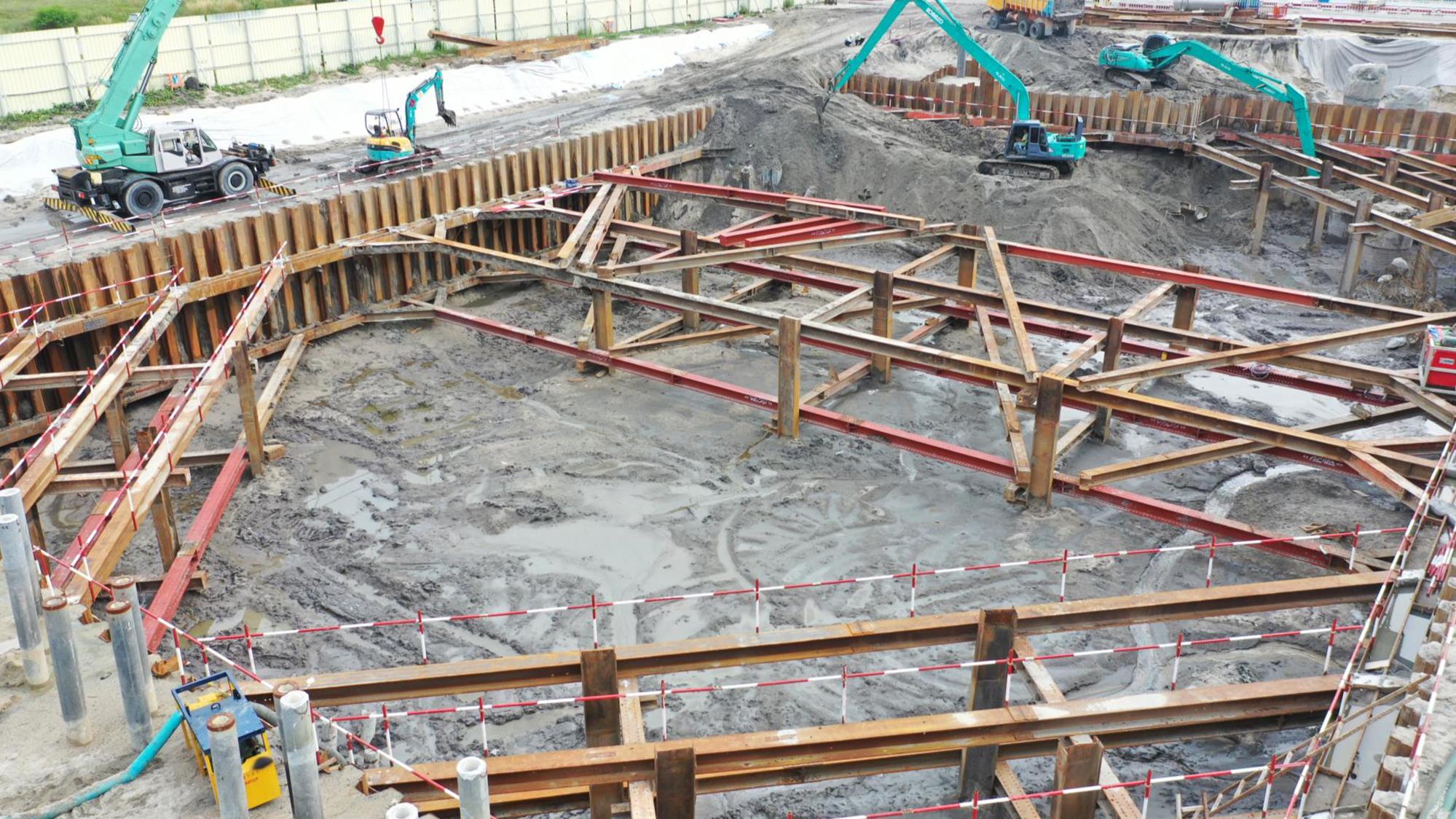 25-C 棟區域 二層土方開挖