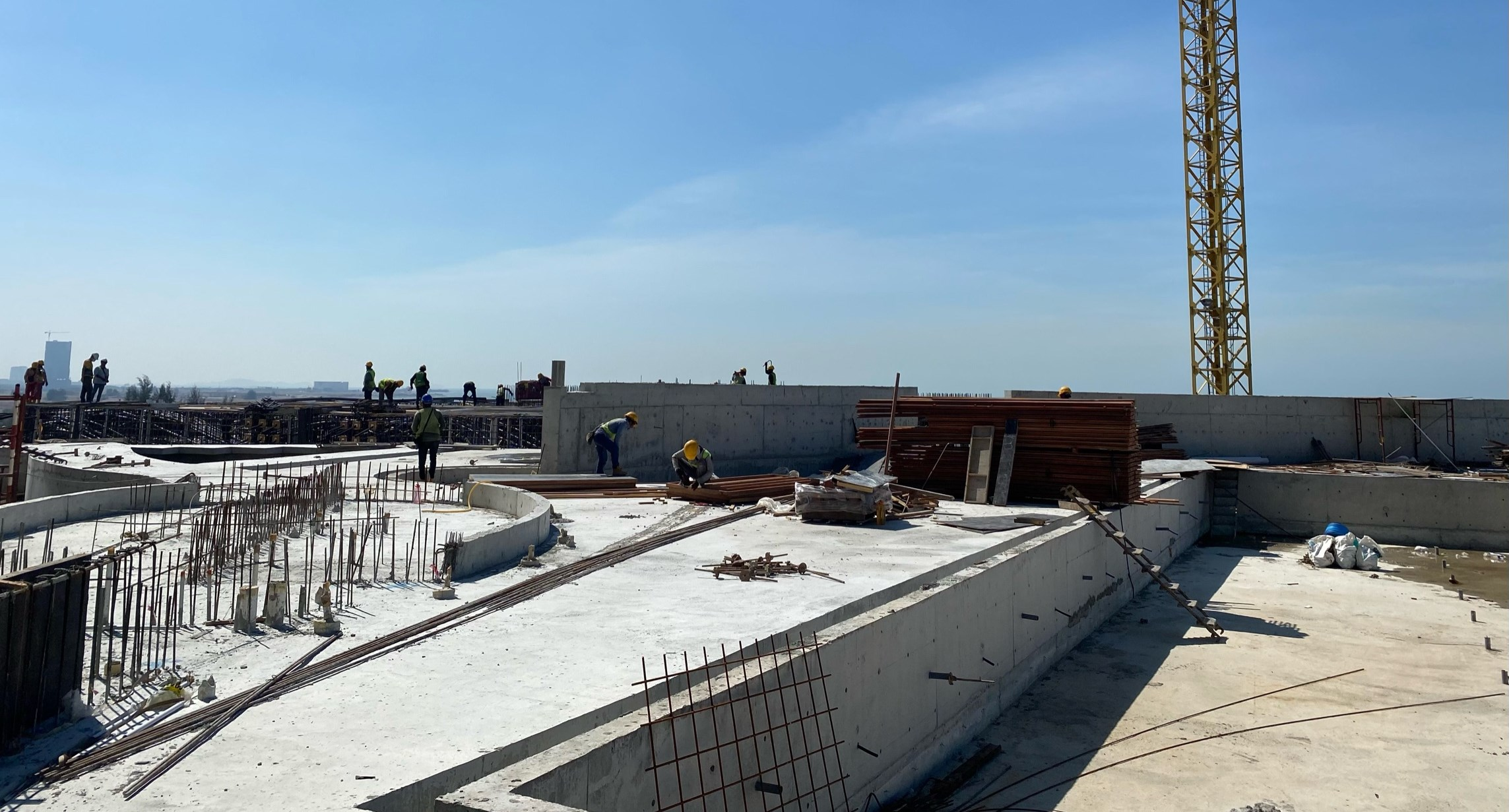 04-B 棟區域 Zone 4&5 (7F 樓板清理)